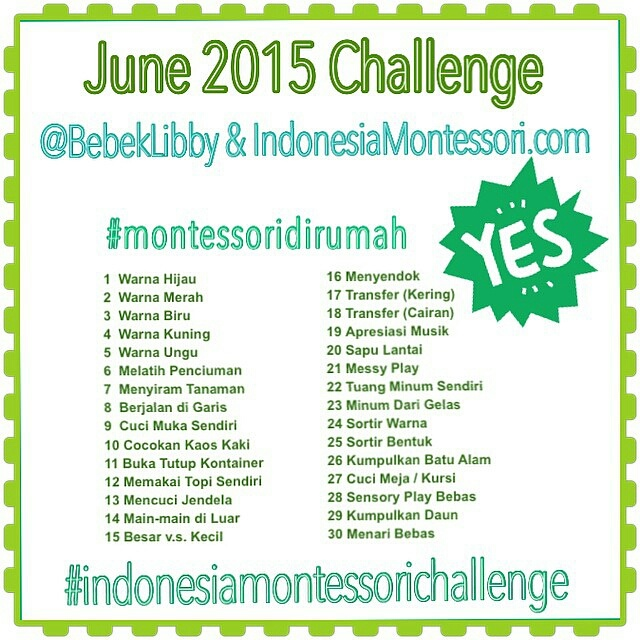 Indonesia Montessori Challenge
