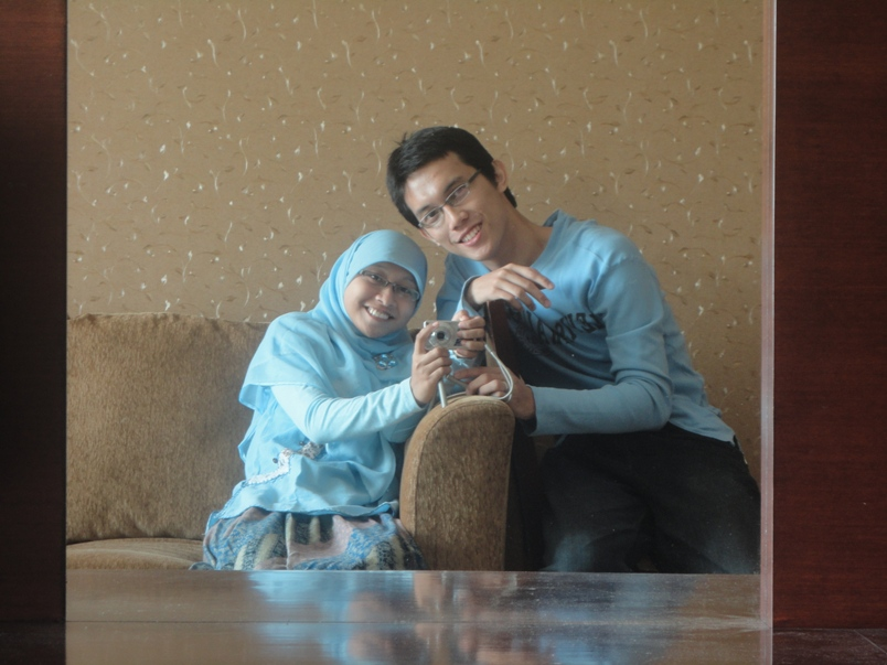 In Front Of The Mirror :D