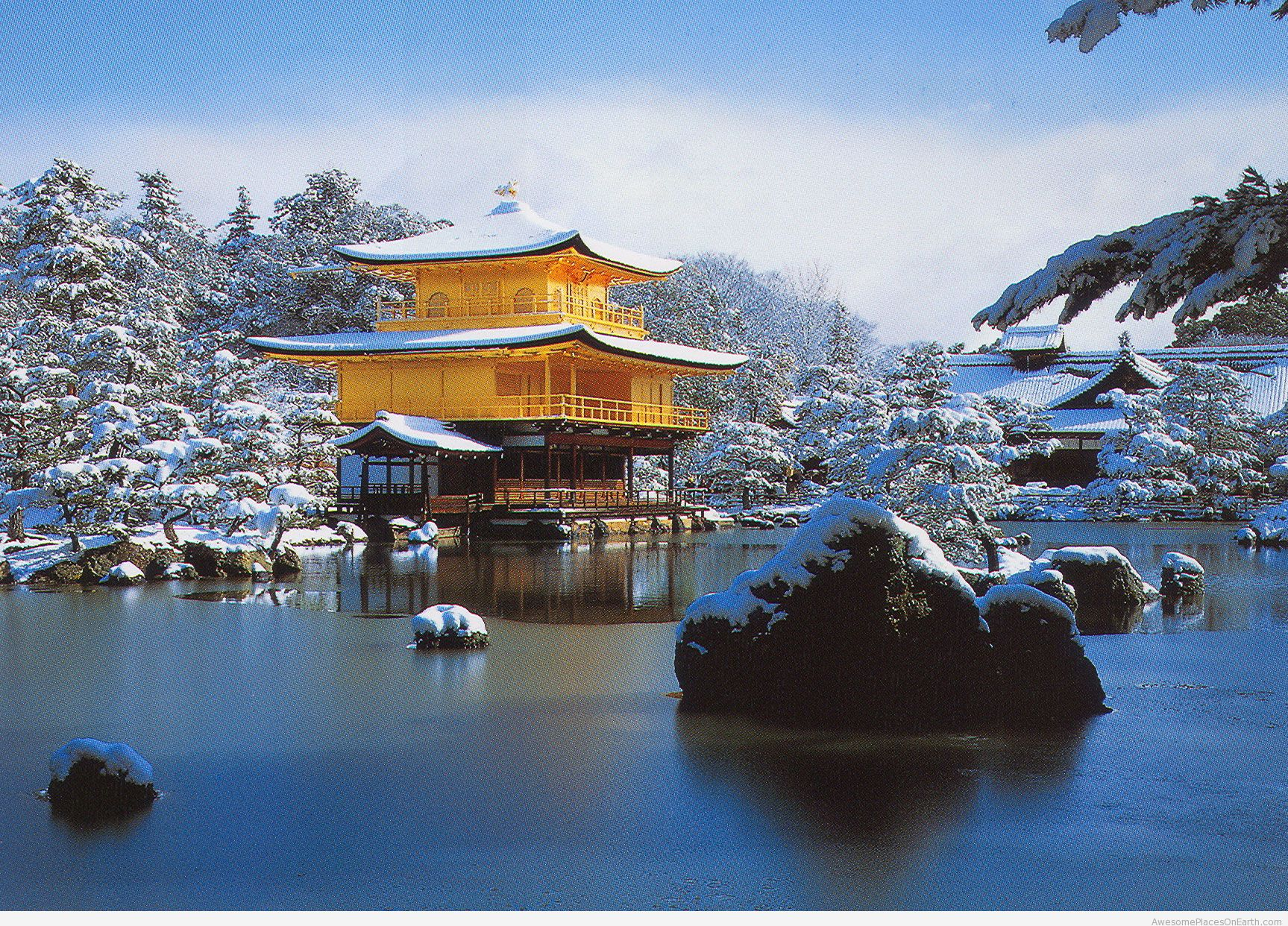 Kinkaku-ji in Winter