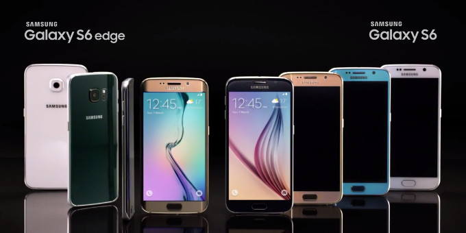 Warna Samsung Galaxy S6 & S6 Edge