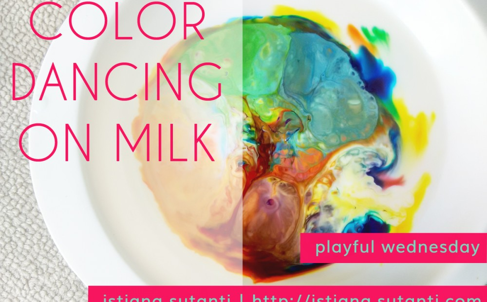 Color Dancing on Milk