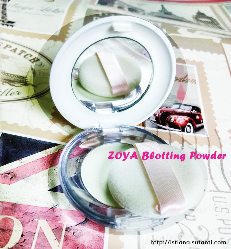 ZOYA blotting powder